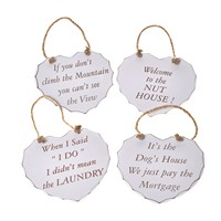 Shabby Chic Plaques