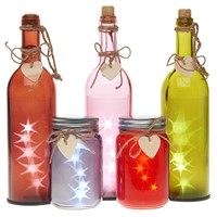 LED Jars & Bottles