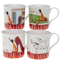 Quirky Ladies Mugs