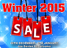 Joe Davies Winter Sale