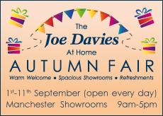 Joe Davies Autumn Fair Home Event