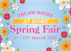 Joe Davies At Home Spring Fair Event