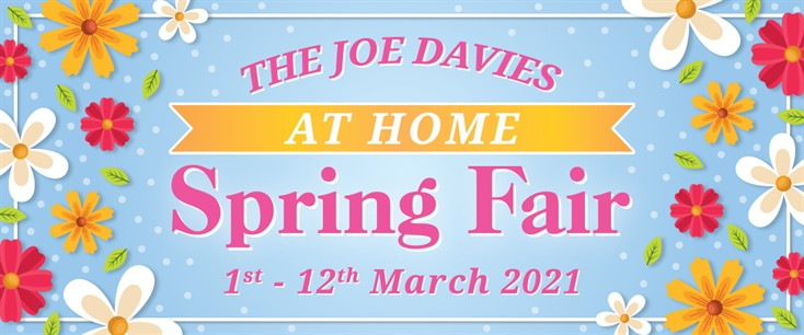 Joe Davies At Home Spring Fair